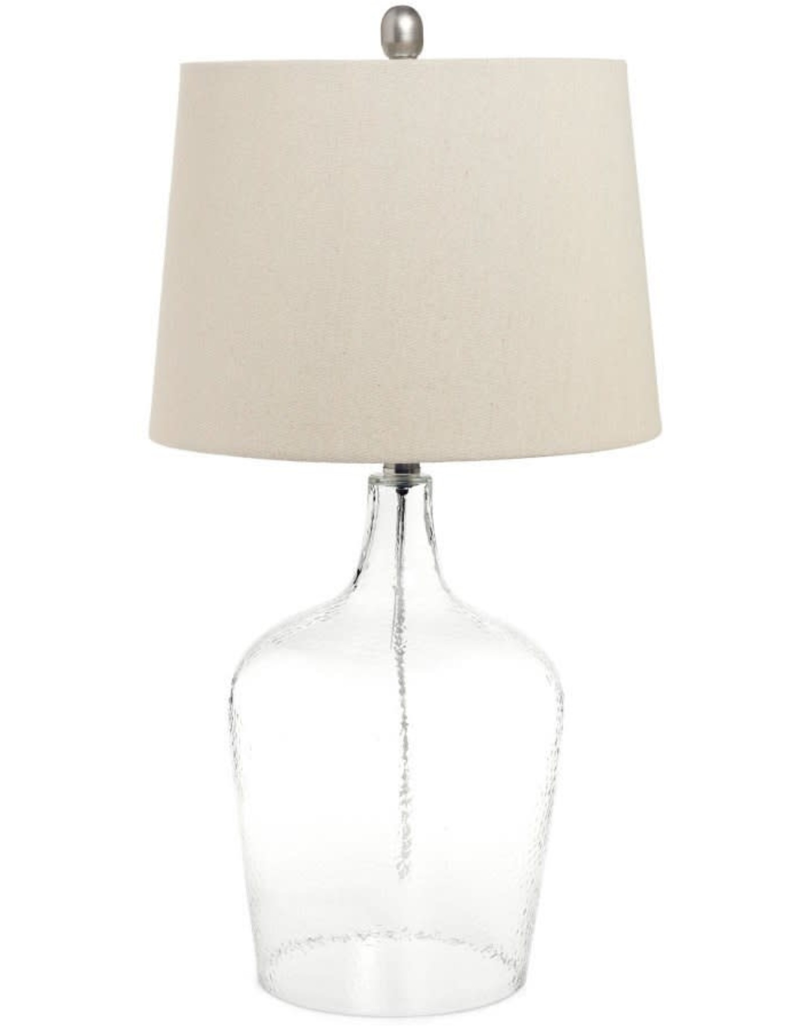 TCE Claro Glass Table Lamp