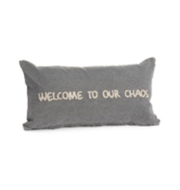 TCE Denim Chaos Pillow Grey
