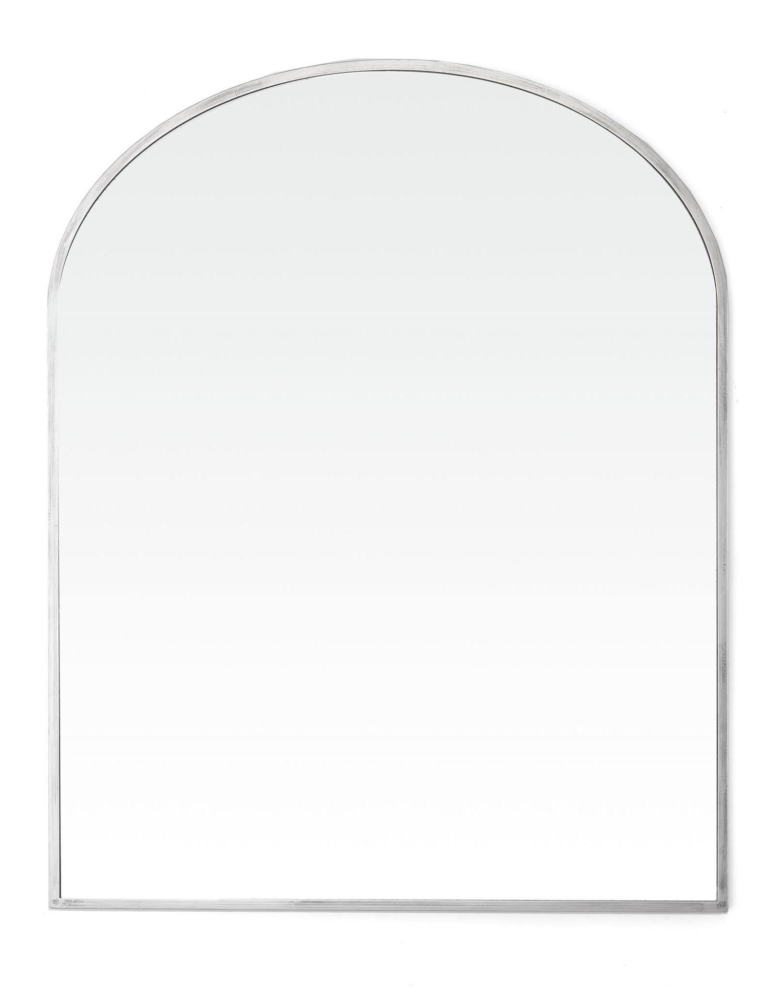 TCE Heidi Silver Mirror Large