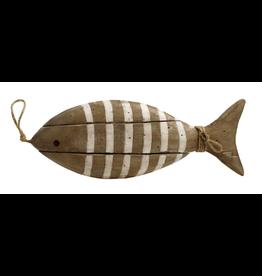 TCE Wood Fish White Stripe