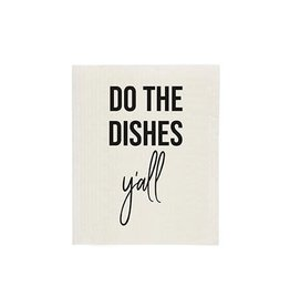 TCE Do the Dishes Y'all Sponge Cloth