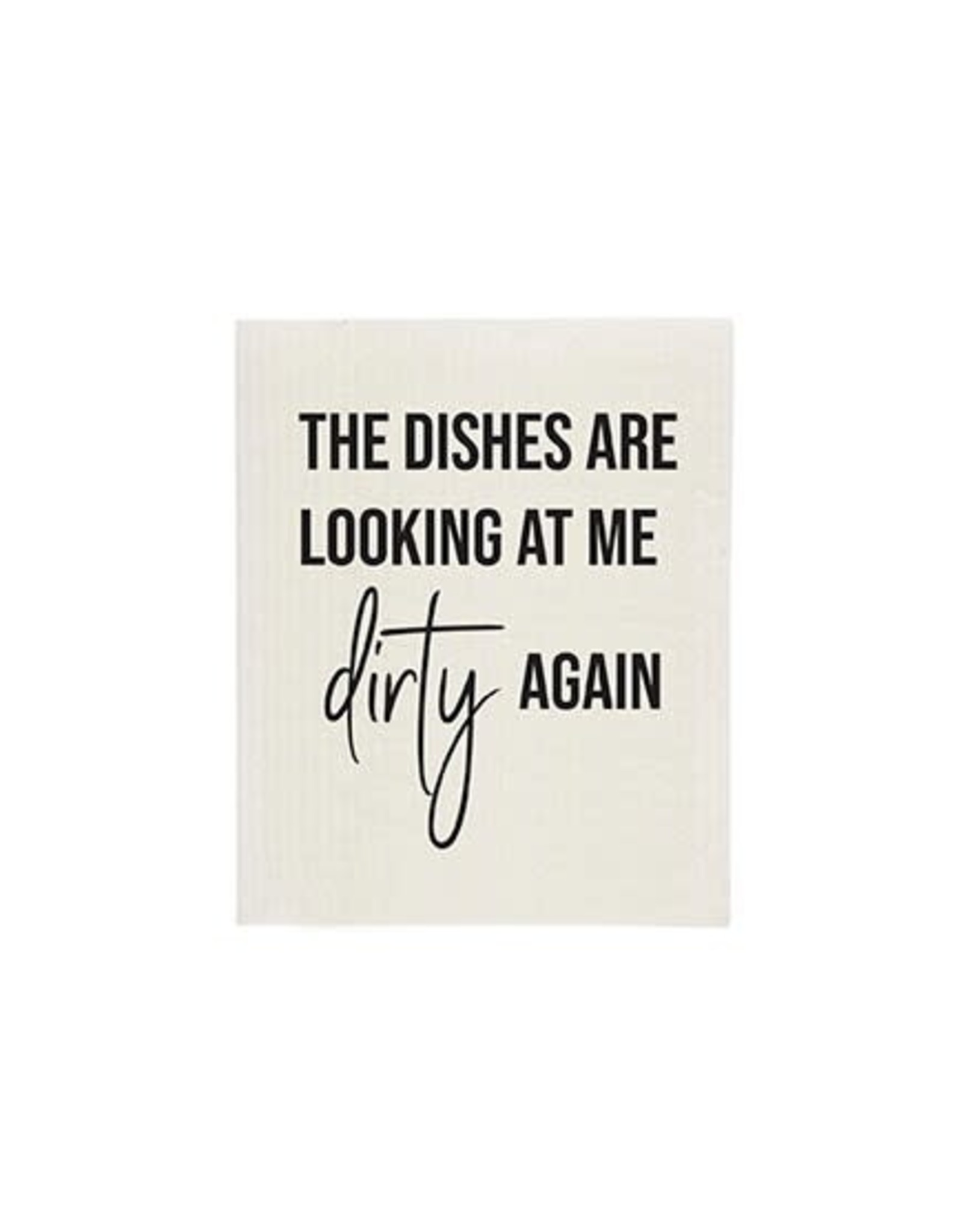 TCE The Dishes are Looking...Sponge Cloth