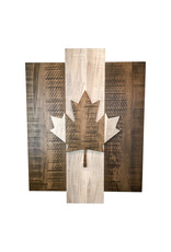TCE CNC Wood Flag