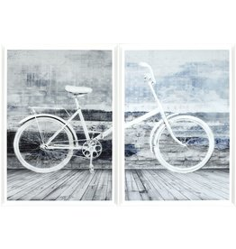 TCE Bicyclette Blanche Diptych
