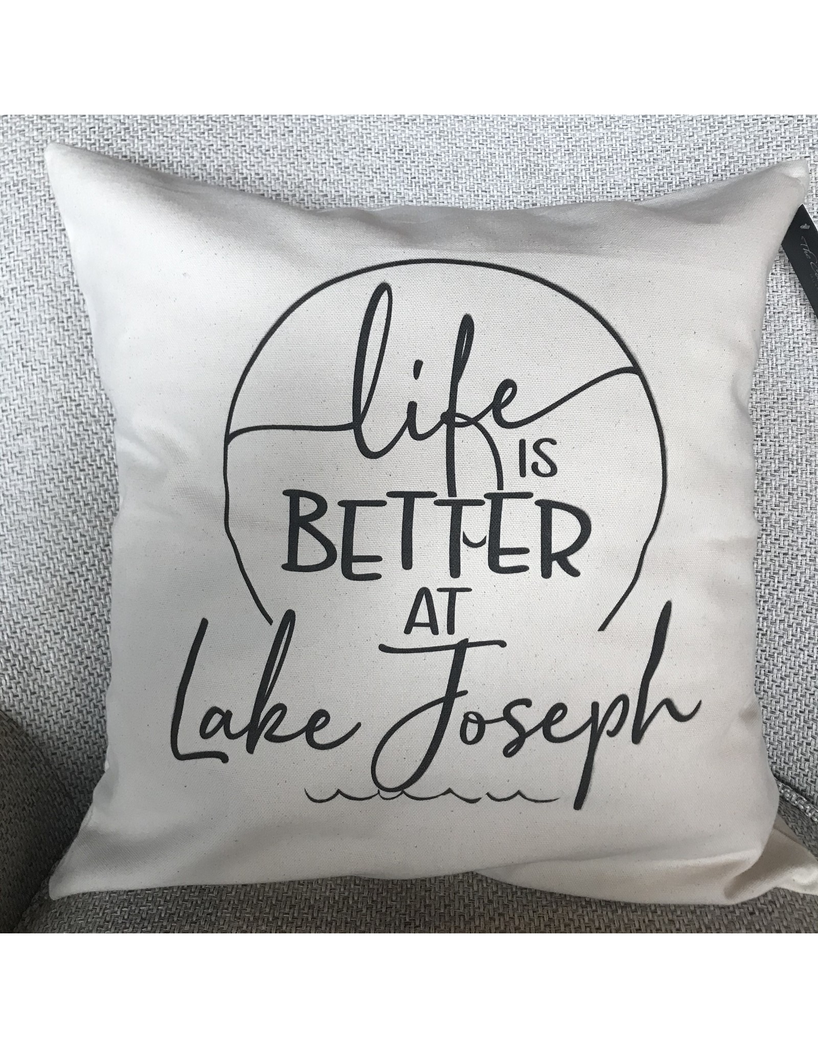 TCE Life is Better at Lake Joseph Pillow