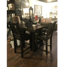 Haliburton Counter Table and Four Stools
