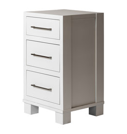 TCE Bala 3 Drawer Nightstand