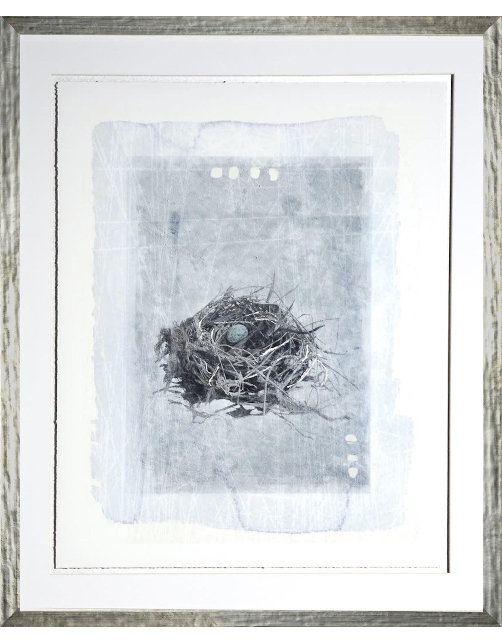 TCE Nest in Blue I White Frame