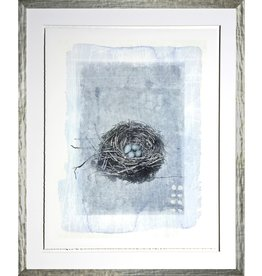 TCE Nest in Blue III White Frame