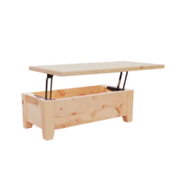 TCE Dakota Straight Edge Pop Up Coffee Table