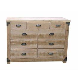 TCE Dwight 9 Drawer Dresser