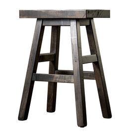 TCE Rustic Saddle Stool