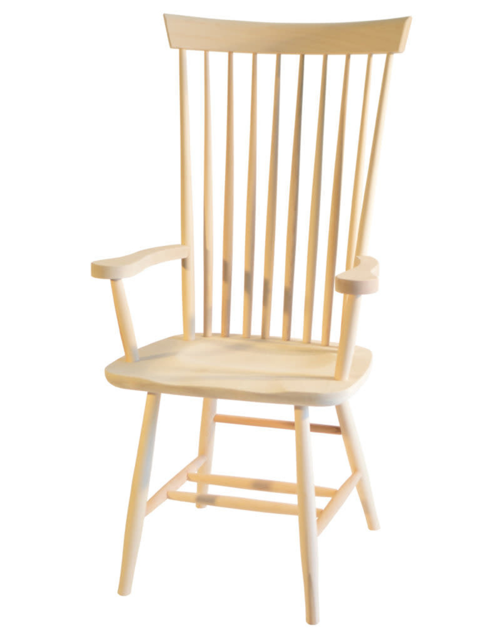 TCE Shaker High Back Arm Chair