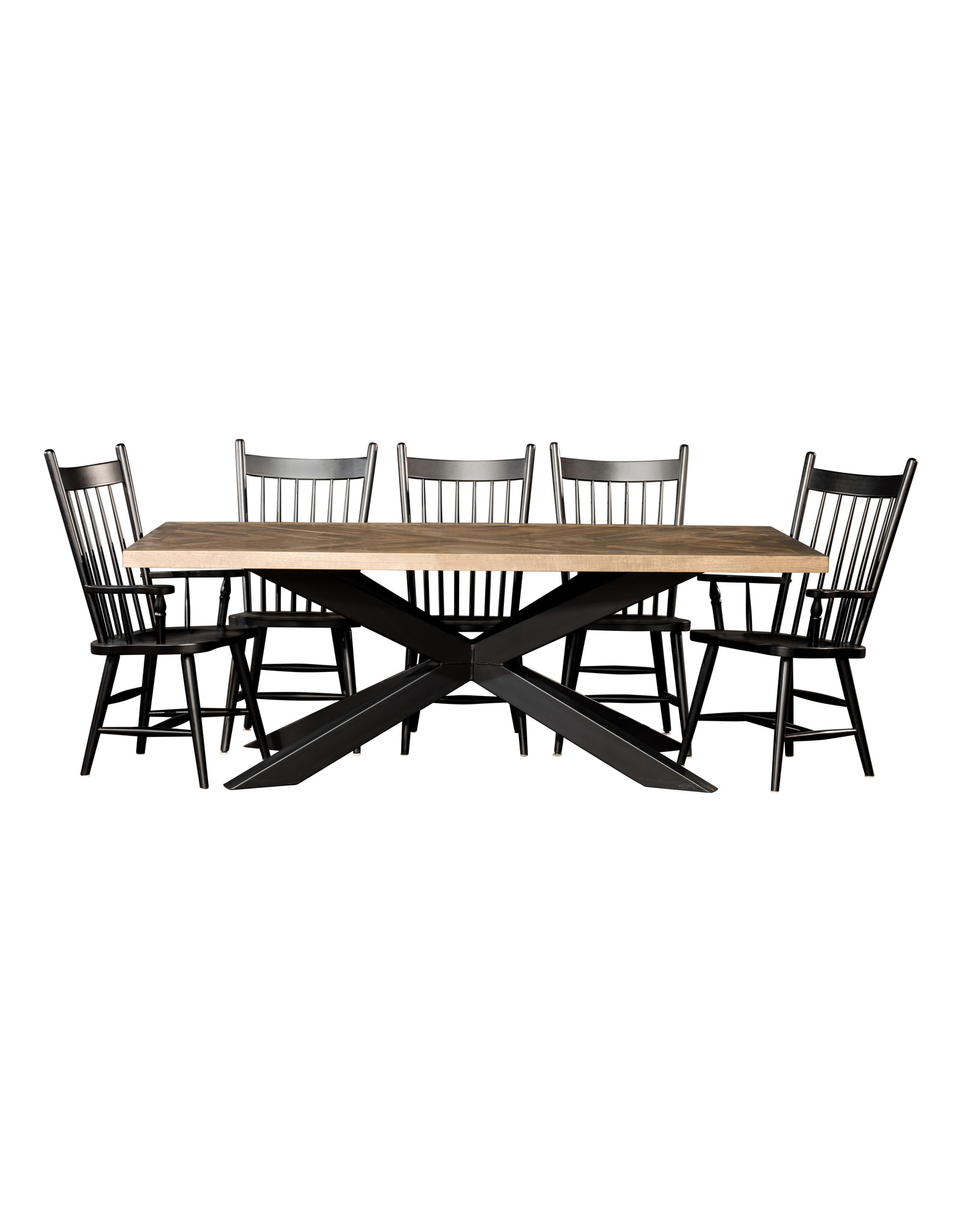 "TCE Herringbone 72"" Dining Table"