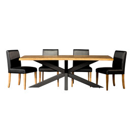 "TCE Hedgehog Live Edge 72"" Dining Table"