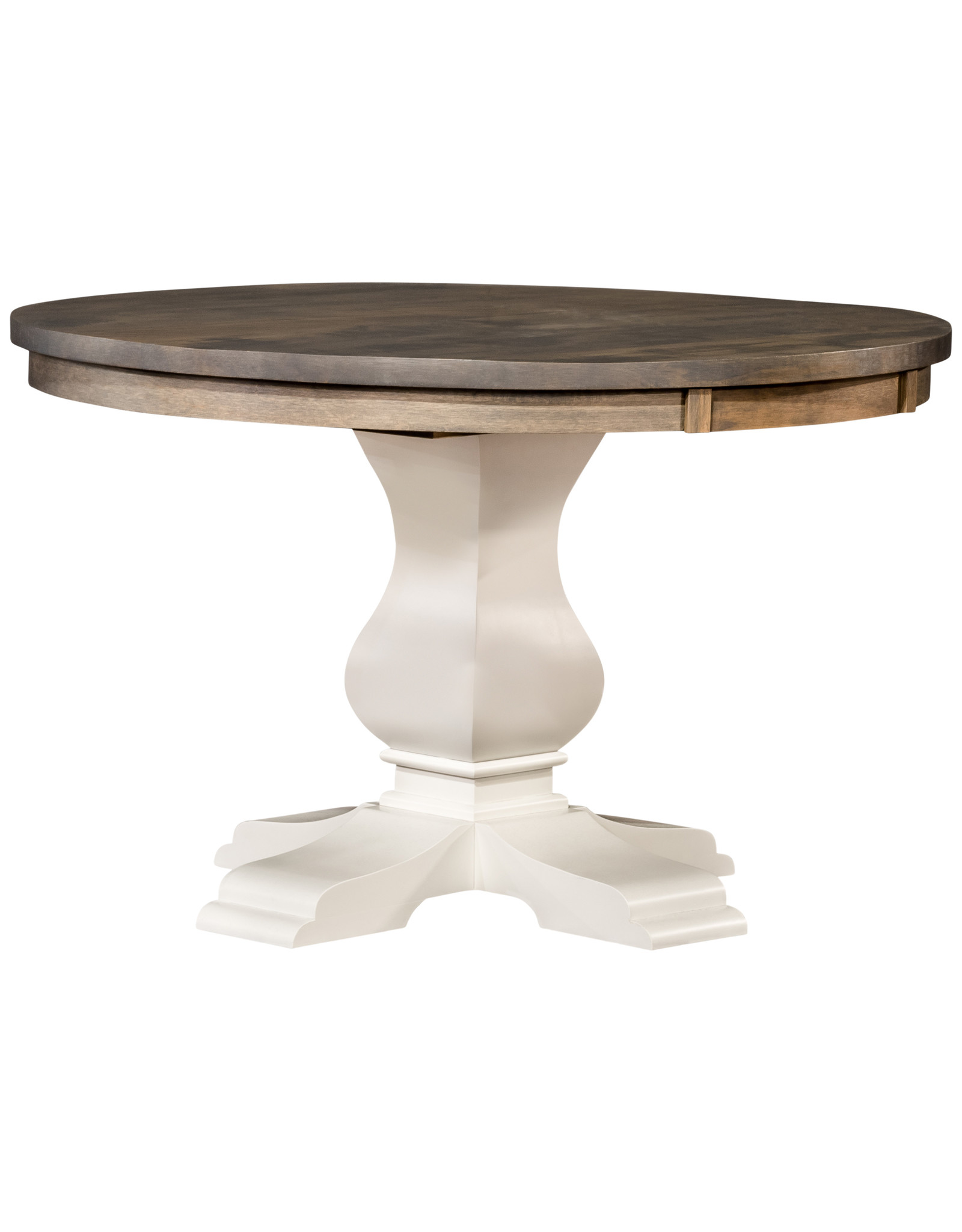 """TCE Gallery 42"""" Round Single Pedestal Dining Table"""