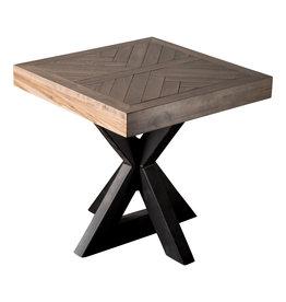 TCE Herringbone End Table