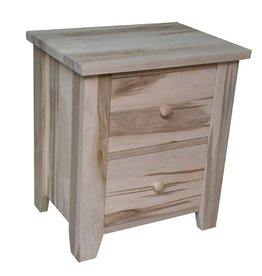 TCE Dakota 2 Drawer Nightstand