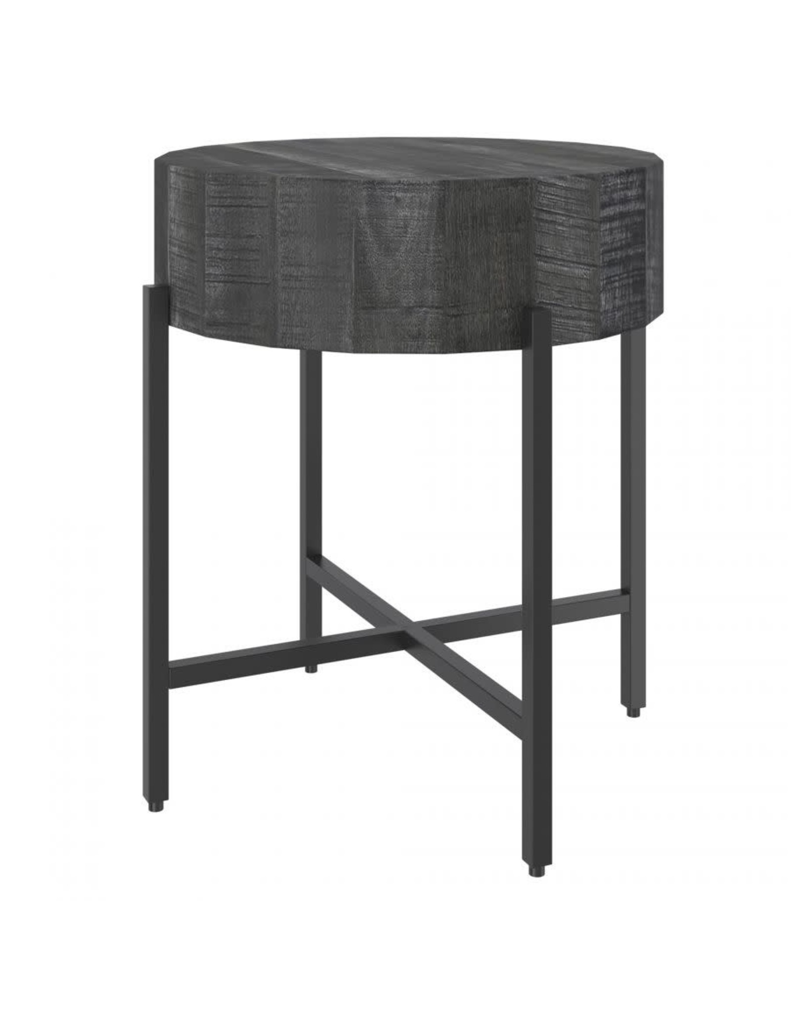Blox Accent Table - Grey