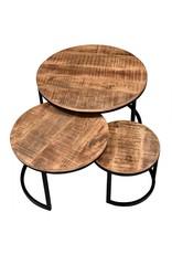 TCE Rain Lake Coffee Table (Set of 3)