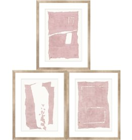 TCE Monolith Rendition in Blush Set of 3