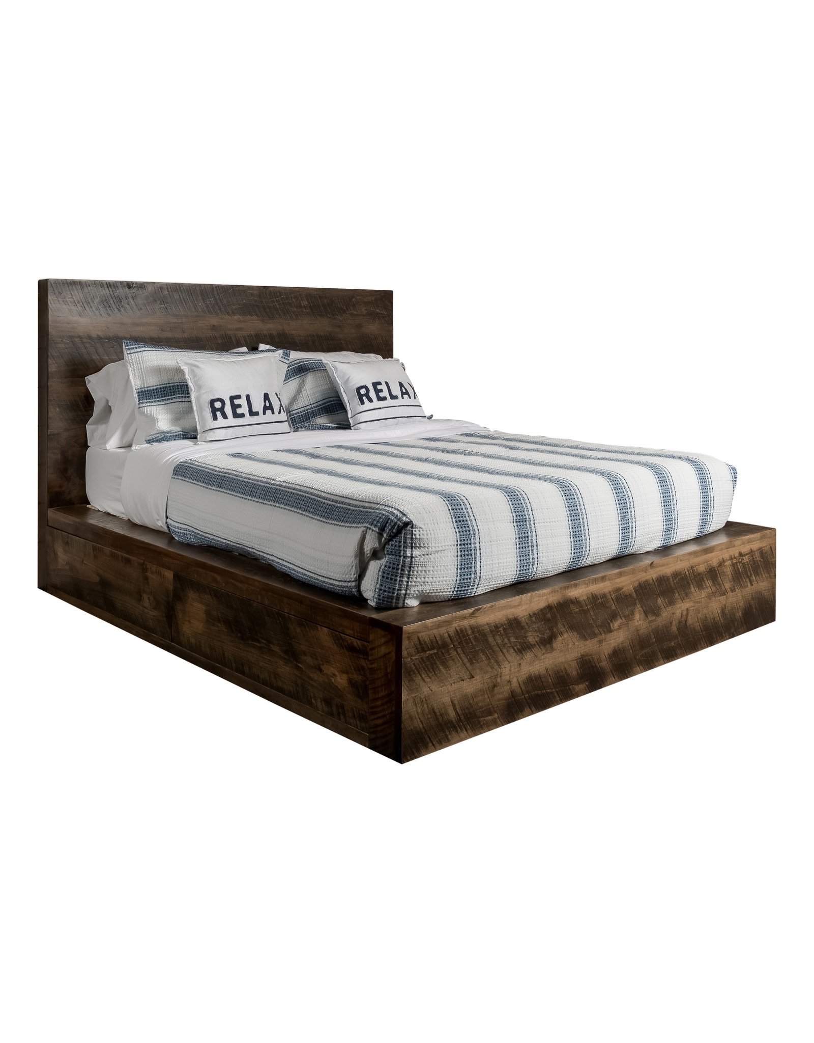 TCE Adirondack Bed With 2 Drawer Each Side