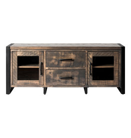 TCE Chub Lake TV Console w Iron Legs