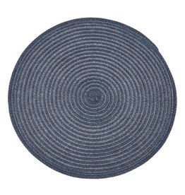 TCE Urban Round Placemat - Blue
