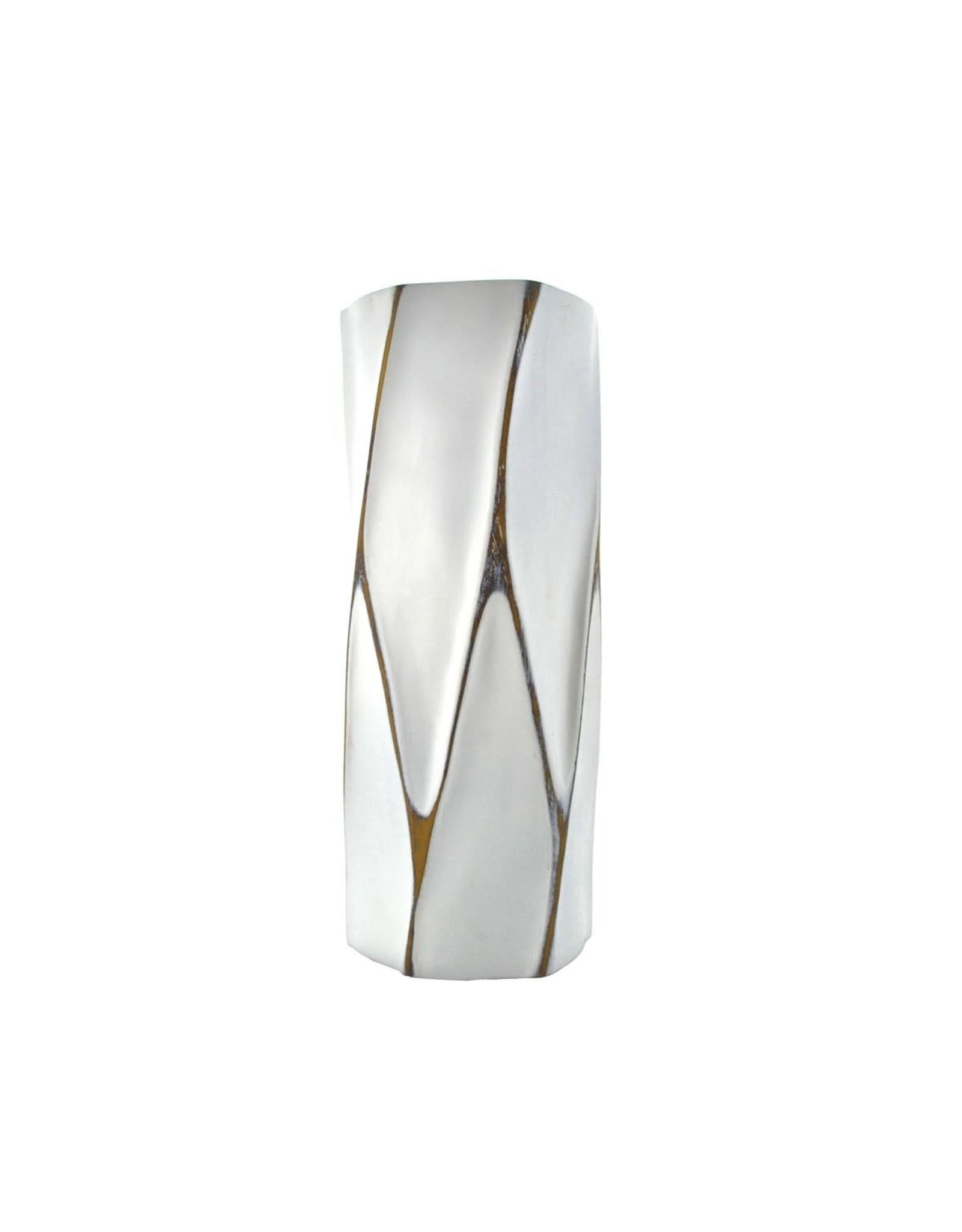 "TCE Carved 16"" Vase"