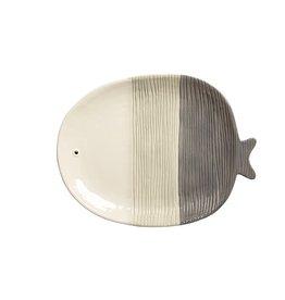 TCE Fish Large Platter Grey