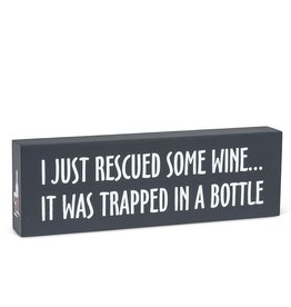 TCE Sign - Rescued Wine…