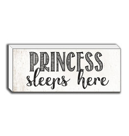 TCE Sign - Princess Sleeps Here