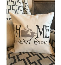 """TCE Home Sweet Home 12""""x12"""" Pillow"""