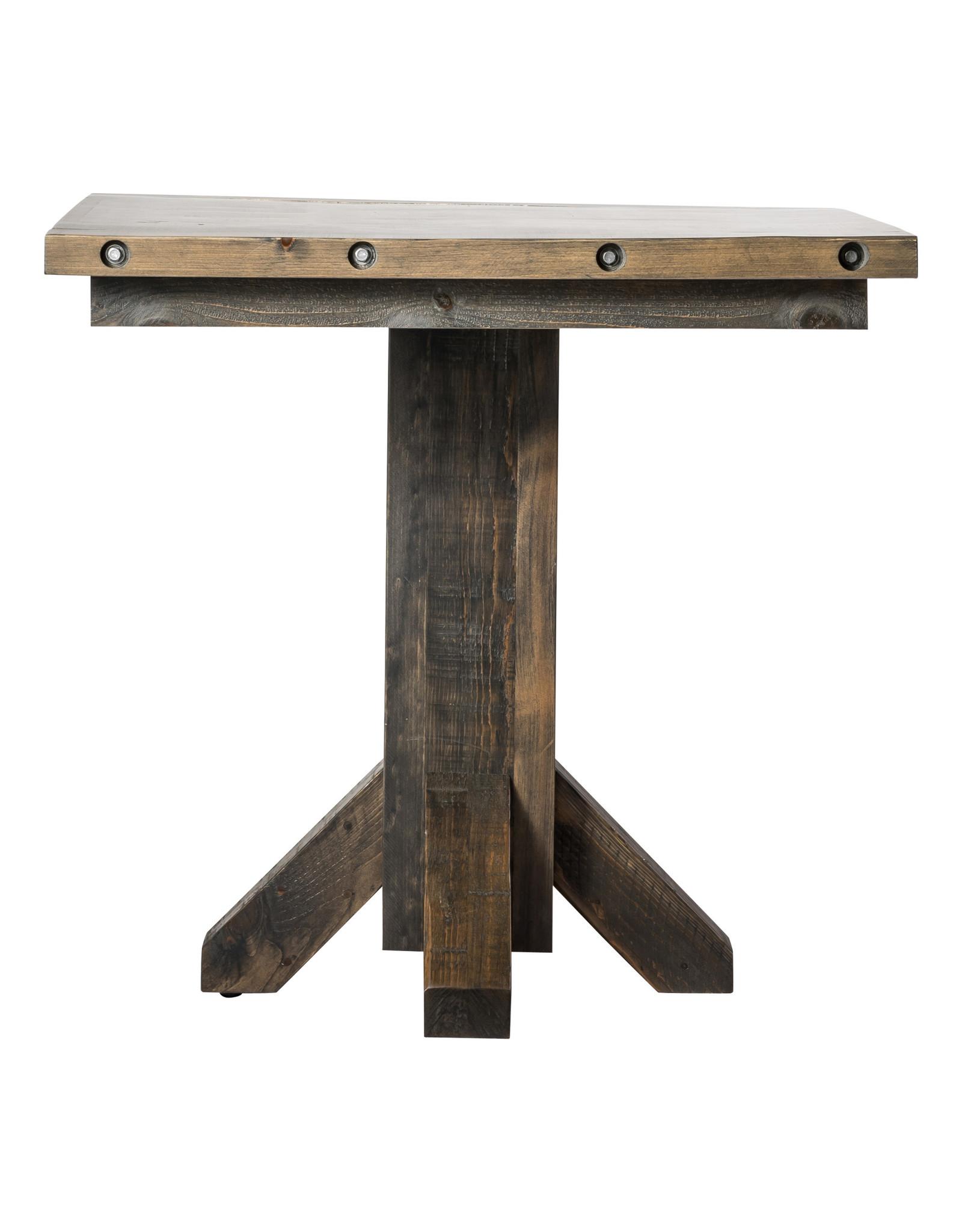 "TCE Barn Series 38"" Square Pub Table"