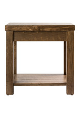 TCE Riley End Table with Shelf