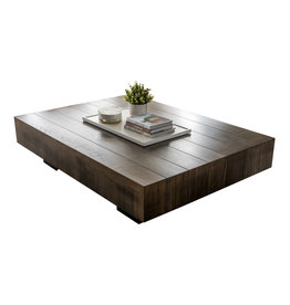 """TCE Lake Vernon Plank 66""""x48"""" Coffee Table"""