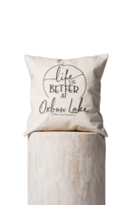 TCE Life is Better at Oxbow Lake  Pillow
