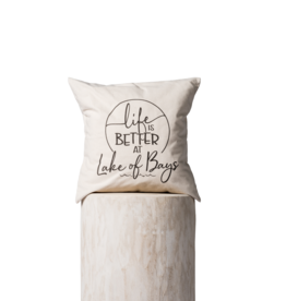 TCE Life is Better at Lake of Bays Pillow