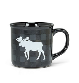 Moose Checker Mug