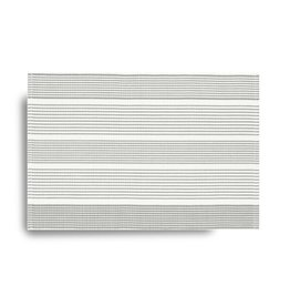 Ribbed Striped Placemat - Grey