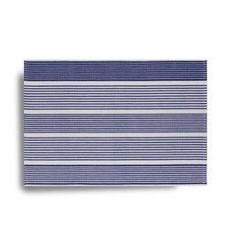 Ribbed Striped Placemat - Blue