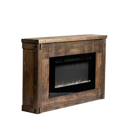 TCE Timber Fireplace with Insert