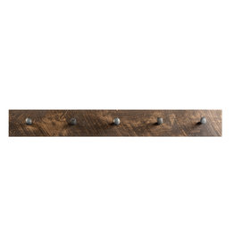 """TCE Coat Rack With Large Railway Spikes 48"""""""