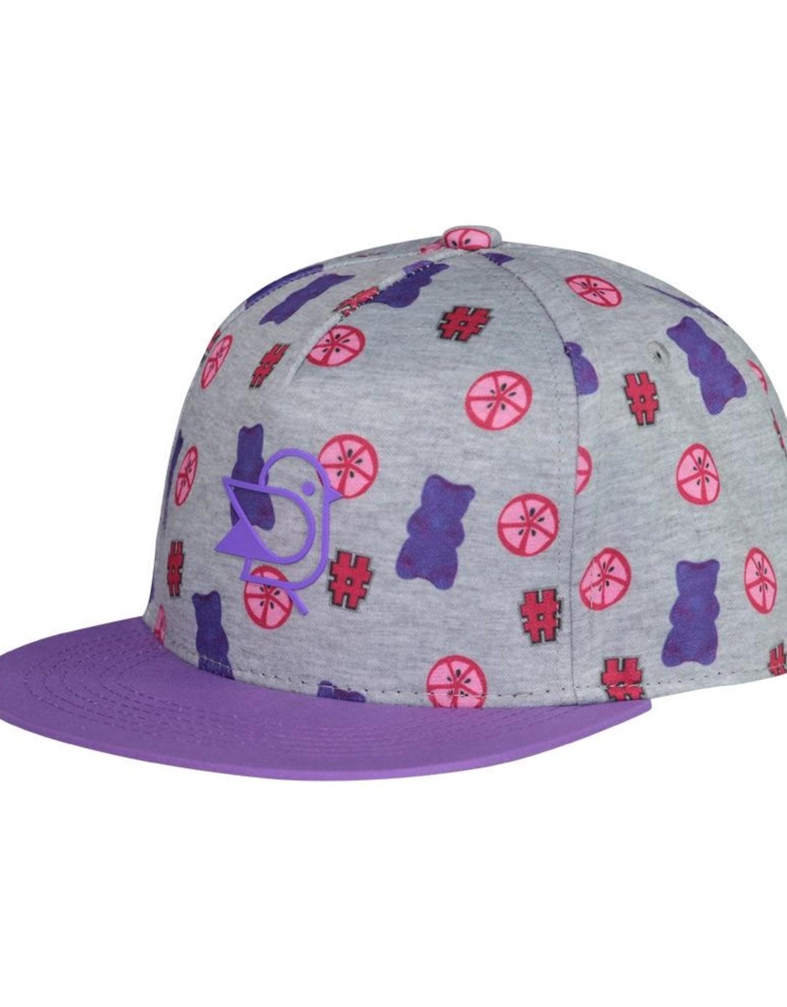 Birdz 0-24M Purple Gummy Bears Cap