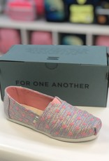 TOMS Classic Pink Heart Glimmer