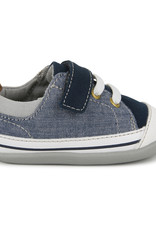 See Kai Run Stevie blue denim Runner