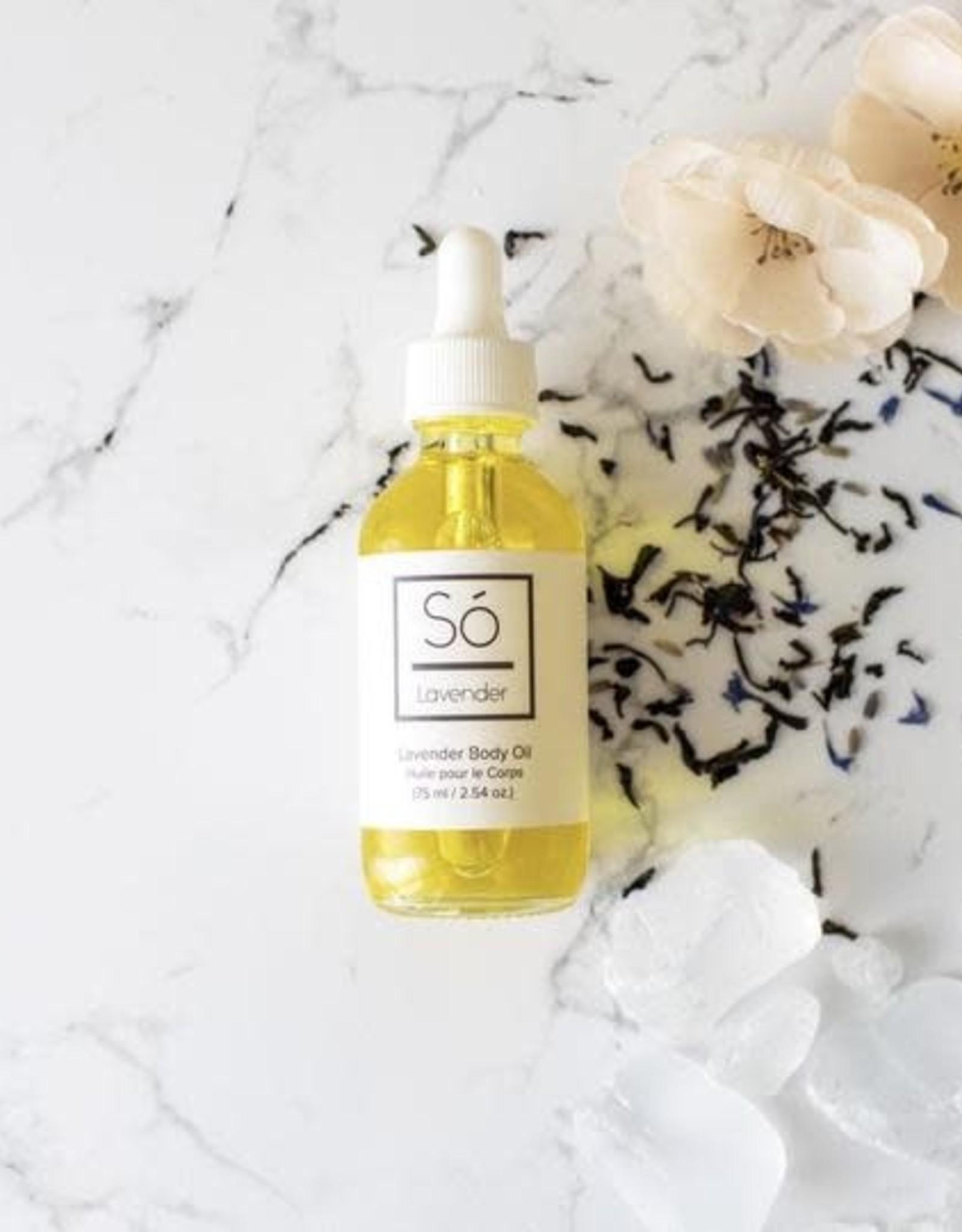 So Luxury Lavender Body Oil