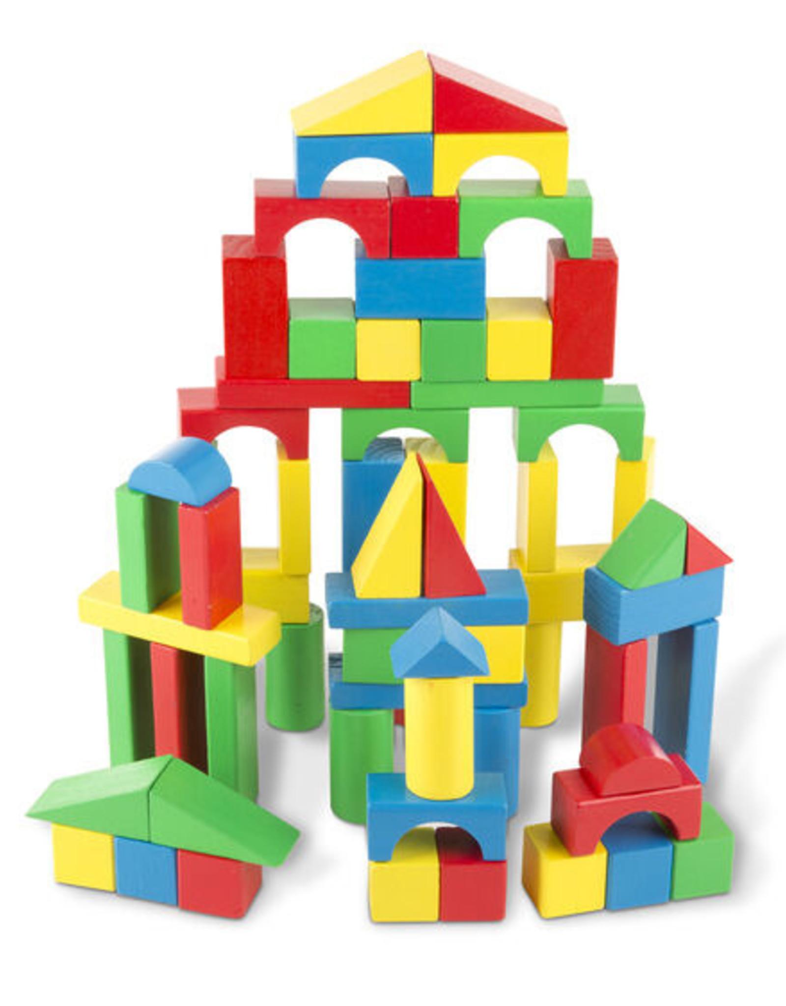 Melissa & Doug M&D 100 Wood Blocks