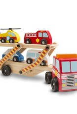 Melissa & Doug M&D Emergency Vehicle Carrier