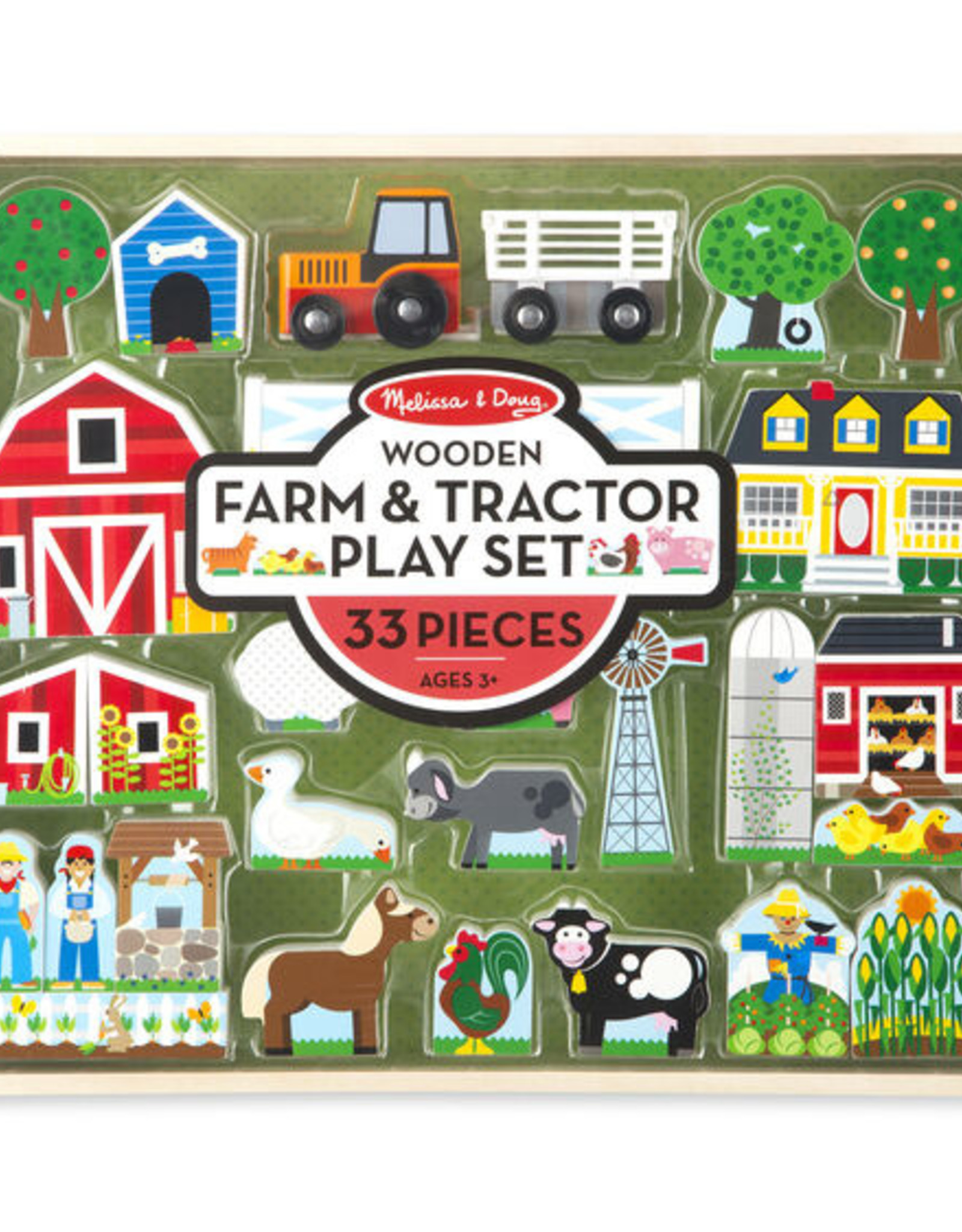 Melissa & Doug M&D Farm And Tractor Set